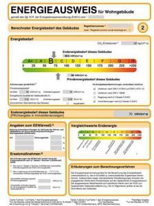 Energieausweis EnEV 2014 neu